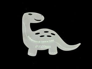 A daring dinosaur acrylic sewing/craft template!