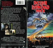 Return of Living Dead 2 VHS Video Tape New Michael Kenworthy Thor Van Lingen
