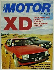 MODERN MOTOR MAGAZINE MAY 1979 FORD XD FALCON THE LAST AUSTRALIAN BMW M1