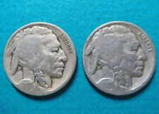 1927 & 1928 Vintage INDIAN HEAD NICKELs> 1927 &1928 NICE Lot of 2 NICKEL COINs