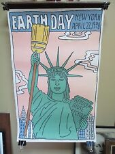 Seymour Chwast (born August 18, 1931) 1990 Earth Day Poster