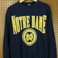 vtg 80's 90's usa made sweatshirt LARGE Notre Dame Fighting Irish university