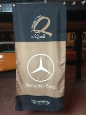 Mercedes Banner Quail Motorsport  Flag Monterey Pebble Beach Concour Collectible