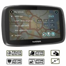 TomTom Trucker 6000 Lifetime GPS Sat Nav - Europe - Lifetime Maps & Traffic (U)