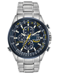 Citizen Eco-Drive Blue Angles World Chrono A-T Blue Dial Men's Watch AT8020-54L