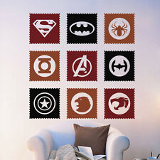 Hero Avengers Logo Vinyl Art Wall Decals Sticker Children Kids Room Decor PVC