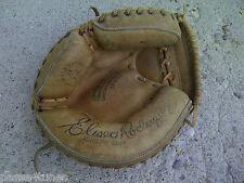 "Vintage ""Spalding"" Catcher's Mitt Eliseo Rodreguez"