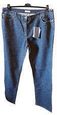 Jeans Pantalone Donna Elasticizzato Sbiadito Denim Calibrata PERSONA Tag  23 29