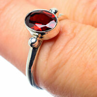 Garnet 925 Sterling Silver Ring Size 6.75 Ana Co Jewelry R26256F