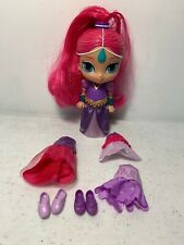 Mattel 2015 Shimmer and Shine GENIE DOLL with Outfits & Shoes