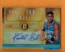 KENDALL GILL 2016-17 PANINI GOLD STANDARD MOTHER LODE AUTO /99