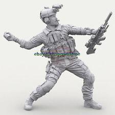 120mm Unpainted US Soldier Figure Model Resin Unassembled Garage Kits Statue GK