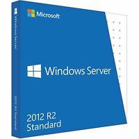 Genuine Microsoft Windows Server 2012 Standard x64 2CPU/2VM P73-05328