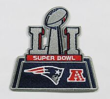 (1) NFL NEW ENGLAND PATRIOTS SUPER BOWL (51) EMBROIDERED PATCH TYPE D # 38