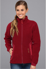 NWT Arc'teryx Women's Strato Jacket xs ROSEBERRY red ski fleece Polartec Thermal