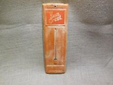 "Original  Sun Crest Soda Pop Tin Thermometer Sign 14"""