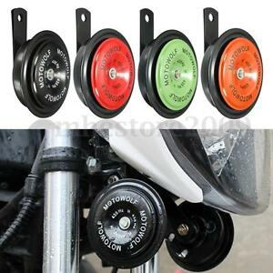 Universal 12V Loud Motorcycle Car Auto 110DB Dual-tone Snail Electric Air  -