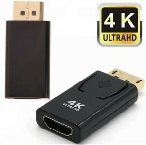4K Display Port DP Male To HDMI Female Adapter Converter Adaptor For HDTV