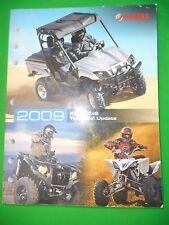 Yamaha 2009 ATV / SxS Side x Side  Technical Update part#  LIT-17500-AT-09