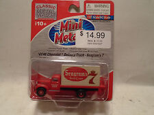CLASSIC METAL WORKS #30362 HO '41/46 CHEVY DELIVERY TRUCK SEAGRAM'S 7 NEW