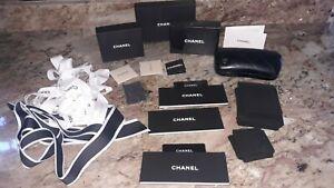 CHANEL Storage Lot ~ Boxes , Sunglass Case , Ribbon , Jewelry Case
