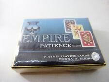 jeu de cartes EMPIRE  PATIENCE , PIATNIK PLAYING CARDS  (cpnb1)