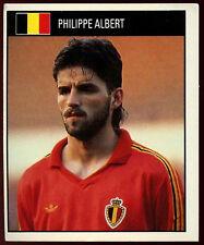 Philippe Albert Belgium #248 Orbis World Cup Football 1990 Sticker (C234)