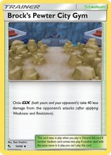 Brock's Pewter City Gym 61/68 - Uncommon Pokemon Card - Hidden Fates (2019) NM