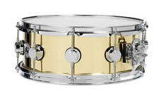 DW Collectors Bell Brass Snare Drum 14x5.5 w/ Chrome Hardware