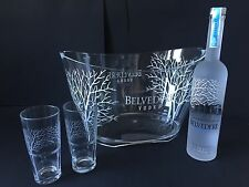 Belvedere vodka set 0,7l frasco + 2 vasos + radiador 40% vol.