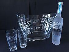 Belvedere Vodka Set 0,7l Flasche + 2 Gläser + Kühler 40%Vol.