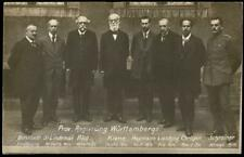 Germany 1919 Revolution Wuerttemberg Provisional Government RPPC 61400