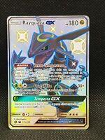 Rayquaza GX fullart promo 177a/168 destino sfuggente italiano no jumbo- pokemon