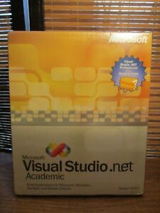 Microsoft Visual Studio . Net Academic For Windows Version 2003 (BRAND NEW)