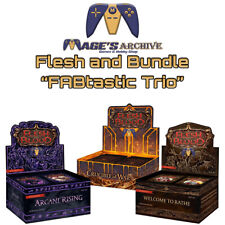 Flesh and Blood Crucible 1st w/ Rathe & Arcane Unlimited Booster Box FAB Bundle