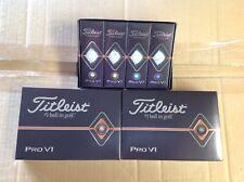3 Dozen Brand New Titleist Pro V1 golf balls no logos