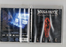 Countdown to Extinction: Live by Megadeth (DVD, Sep-2013, Universal Dist