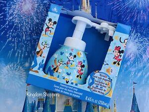2021 Disney Parks World Mickey Head Shape Foaming Soap Dispenser SEALED NEW