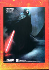 STAR WARS POSTER PAGE . 2003 ELECTRONIC GAMING MONTHLY DARTH NIHILUS ARTWORK V55