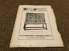 "(MCBK04) ANTIQUE ADVERT 11X8"" GILL & REIGATE : A JACOBEAN CHEST OF DRAWERS"