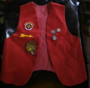 ROYAL RANGERS Vest With 3 Patches 3 Pins  Kids Large