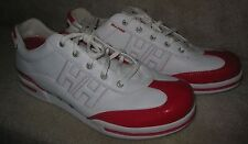 Helly Hansen Mens Sneakers Size 12 White with Red EUC
