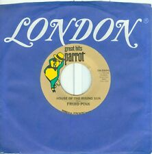 """FRIJID PINK - HOUSE OF THE RISING SUN /HEARTBREAK HOTEL ( USA 7""""PS) RE"""