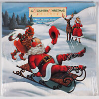 Country Christmas, Volume 4 (1985) [SEALED] Vinyl LP • Dolly Parton, Judds, Vol.