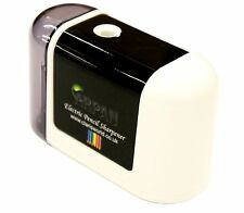 Arpan White Automatic Electric Battery Operated Desktop Pencil Sharpener V-3-WT