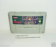 JEU SUPER NINTENDO ULTIMATE MORTAL KOMBAT THE ULTIMATE FIGHTING GAME