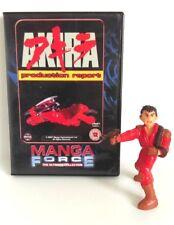 "Akira Yolanda Pvc Figure Kaneda (Red Suit) 3 3/4"" Spain 1991 RARE & DVD Set"