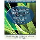 Articulation and Phonological Disorders: Speech Sound Disorders in Children:book
