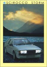 Original Scirocco tormenta VW MK 2 cartel impresión Volkswagen Ltd Ed Rara Marca 2 GTI
