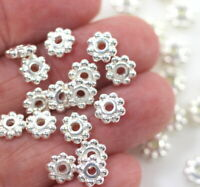 0718 Heishi Beaded Daisy Spacer Beads TierraCast 6 mm Antique Copper Plated